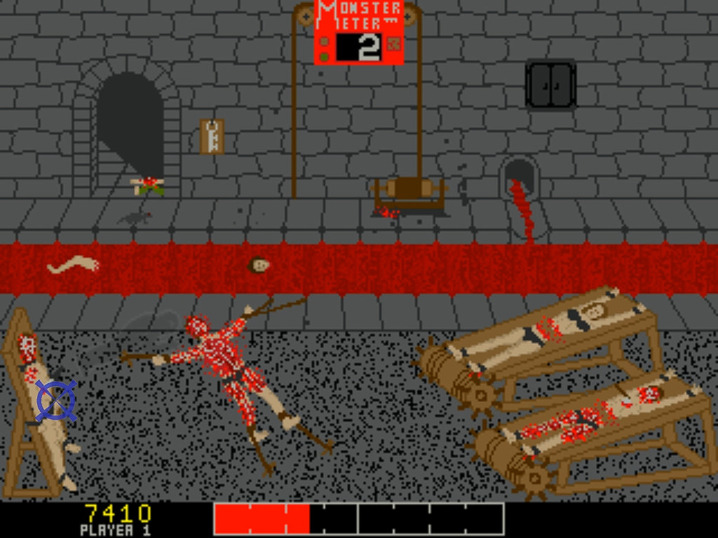 Chiller - Arcade game - gameplay screenshot