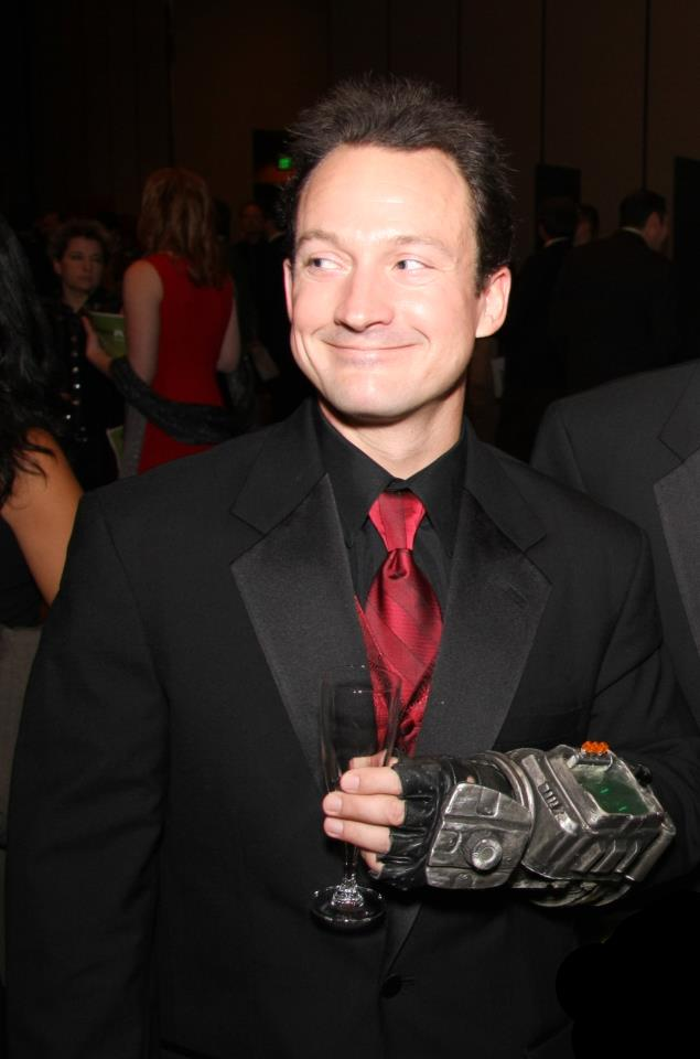 Chris Avellone suit picture
