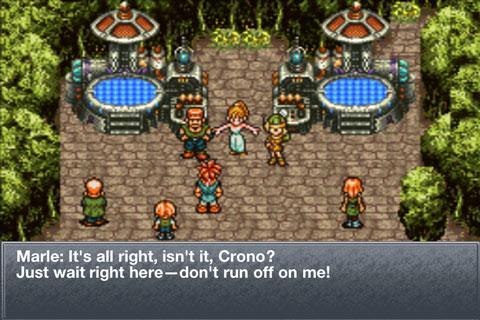 Chrono Trigger - Android - Gameplay screenshot