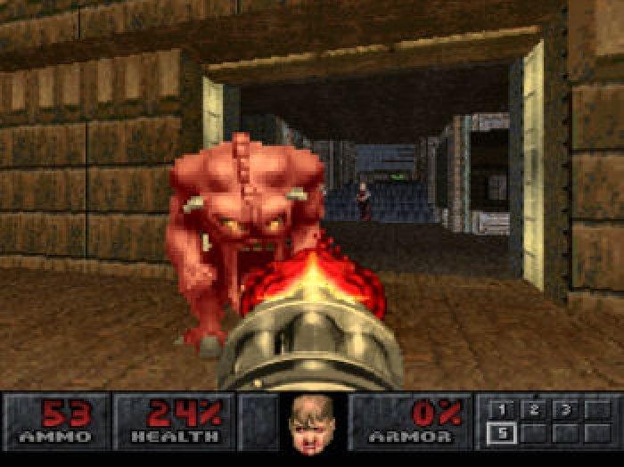 Doom - Sony Playstation - gameplay screenshot