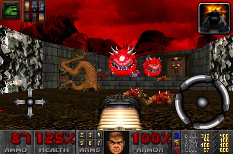Doom - Sony Playstation - gameplay screenshot