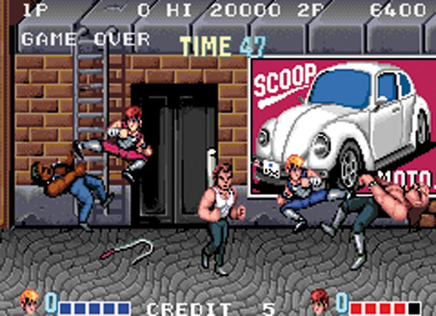 double dragon 1987