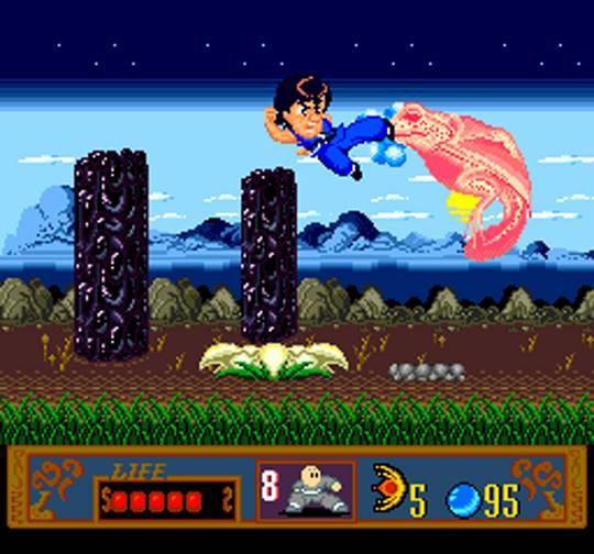 Jackie Chan's Action Kung Fu - turbografx-16-gameplay screenshot