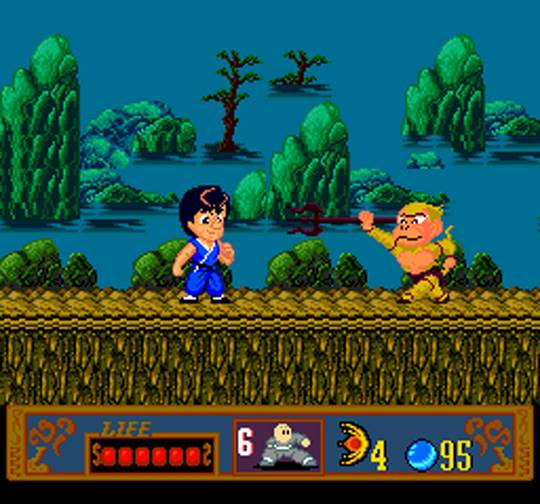 Jackie Chan's Action Kung Fu - turbografx-16-gameplay screenshot