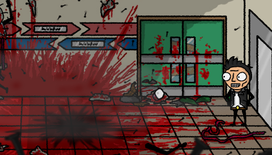Metal Dead - indie games - gameplay screenshot