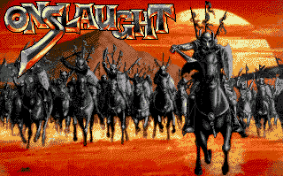 Onslaught - gameplay screenshot