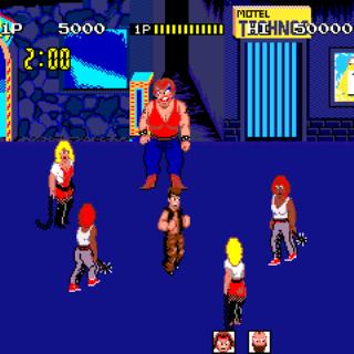 Renegade-arcade gamplay screenshot