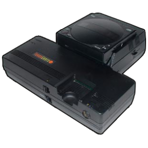 The Turbo CD with TurboGrafx-16
