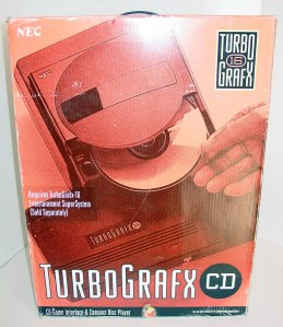 The TurboGrafx CD original box