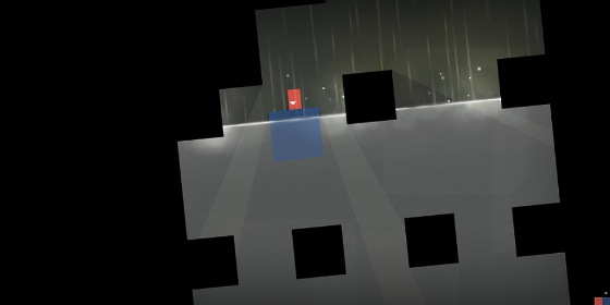 Thomas Was Alone - indie gaming - gameplay screenshot