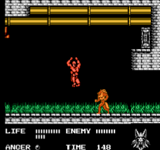 werewolf - nes- gameplay screenshot