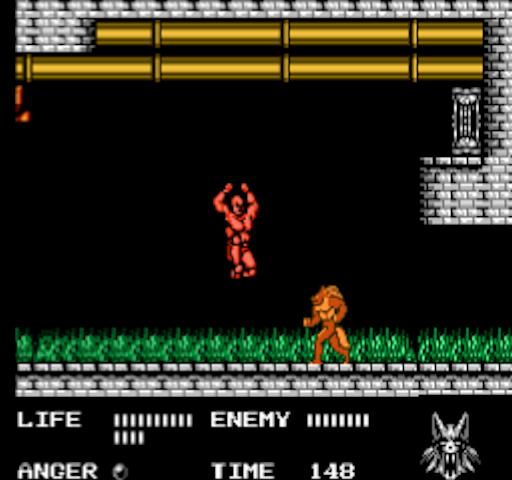 werewolf - nes- gameplay screenshot