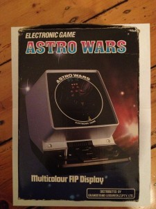Astro Wars - portable tabletop
