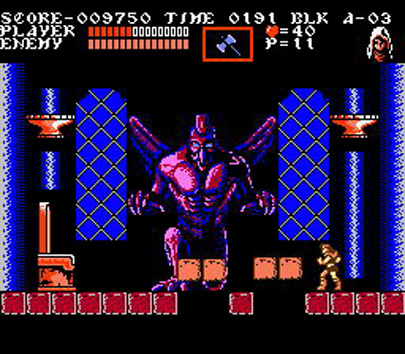 Castlevania III - Dracula's Curse - NES - Gameplay screenshot