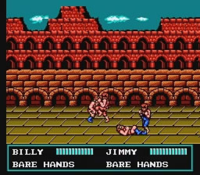 Double Dragon III - The Sacred Stones - NES - Gameplay screenshot