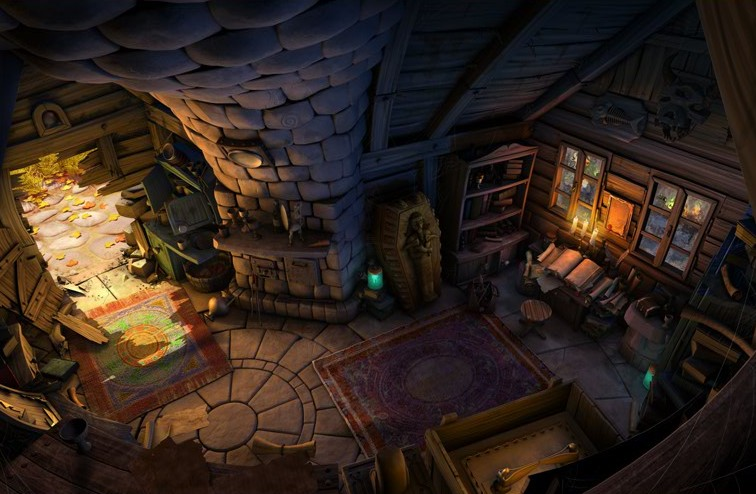 The Book of Unwritten Tales - pc game - gameplay screenshot -