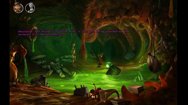 The Book of Unwritten Tales - pc game - gameplay screenshot - 1