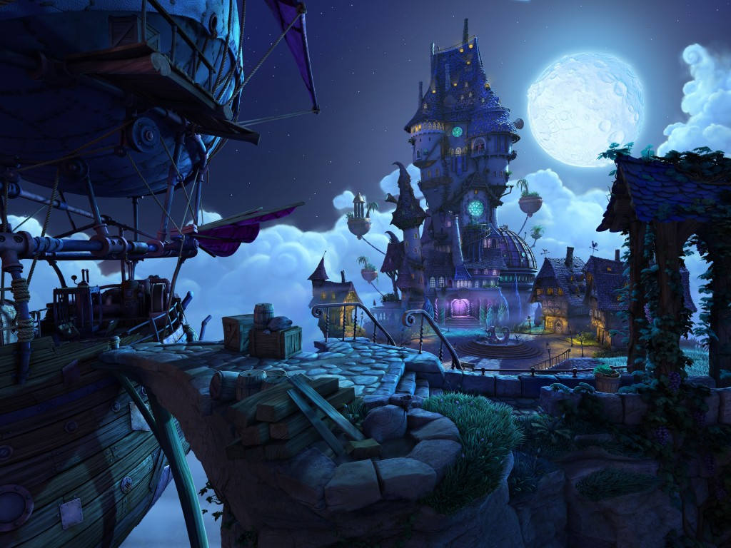 The Book of Unwritten Tales - pc game - gameplay screenshot