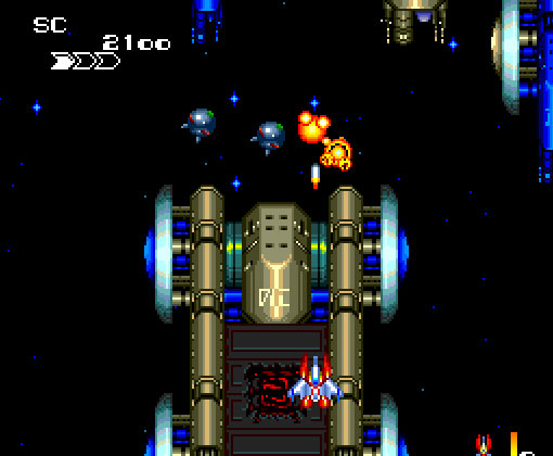 final soldier - pc engine - gameplay screenshot