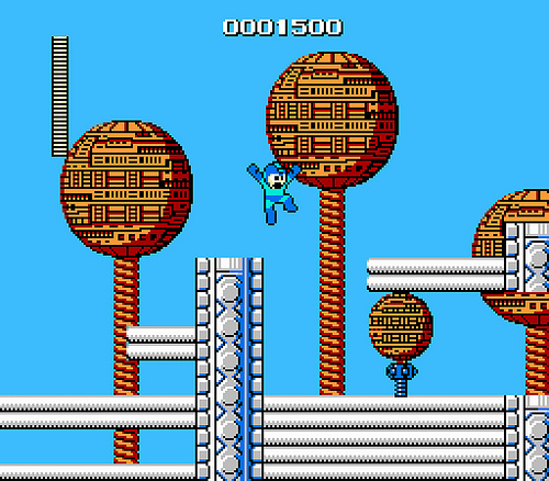mega man - nes - gameplay screenshot