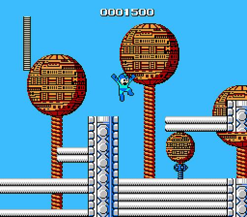 mega man - nes - gameplay screenshot