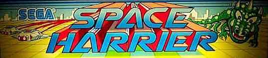 space_harrier - arcade - gameplay screenshot