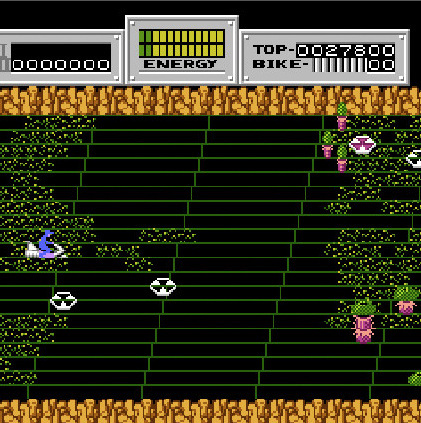 Seicross - NES - Gameplay screenshot