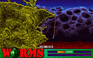 Worms - PC - Gameplay screenshot