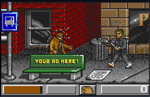 Dirty Larry Renegade Cop - Atari Lynx