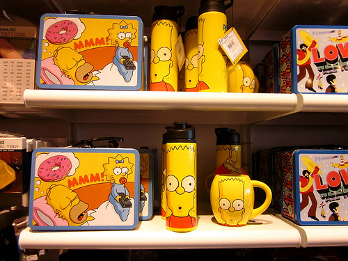 Simpsons lunch boxes