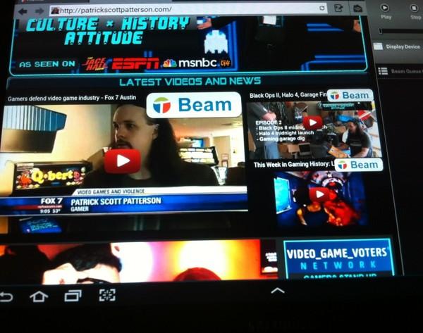 Twonky beam app