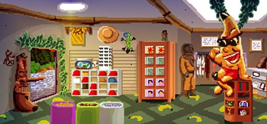 kinky island - pc game - indie game - gamplay screenshot