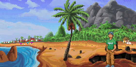 kinky island - pc game - indie game - gamplay screenshot