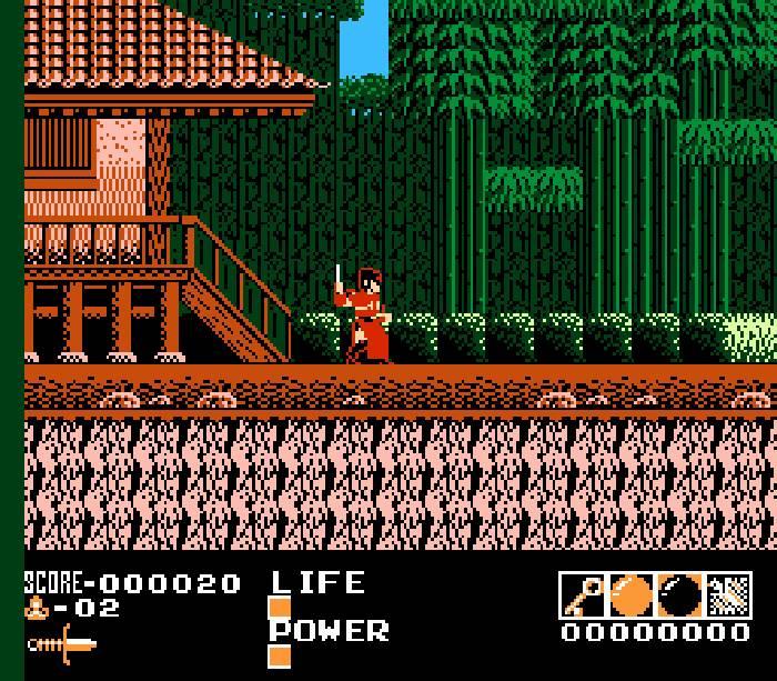 Demon Sword - NES