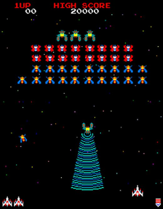 galaga arcade game - photo #20