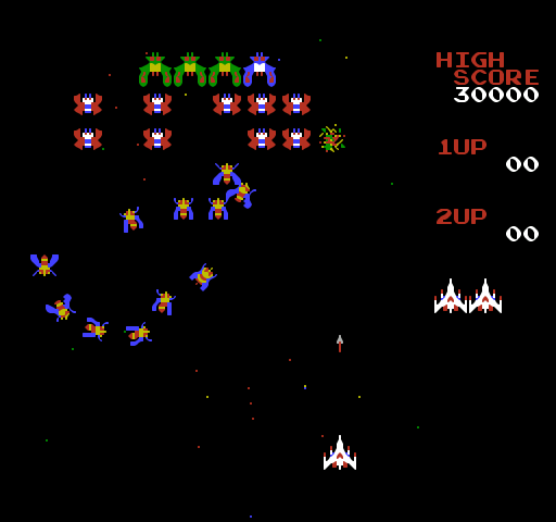 galaga flash