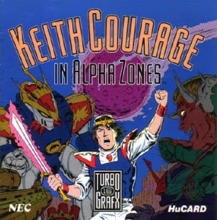 Keith Courage in Alpha Zone