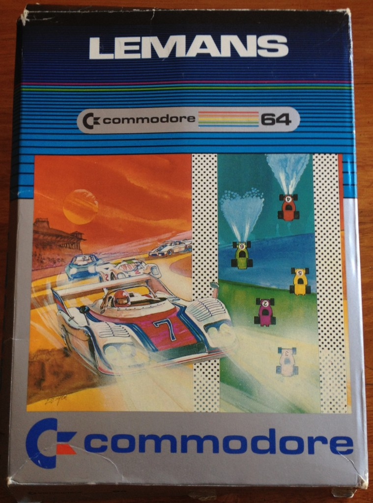 LeMans - Commodore 64