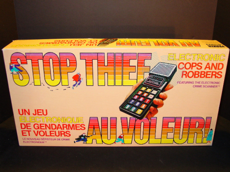 Stop Thief - Parker Brothers