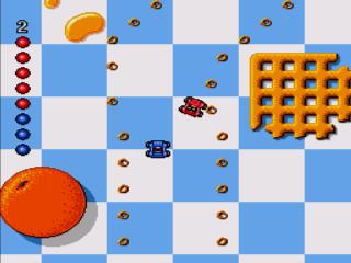 Micro Machines - sega genesis
