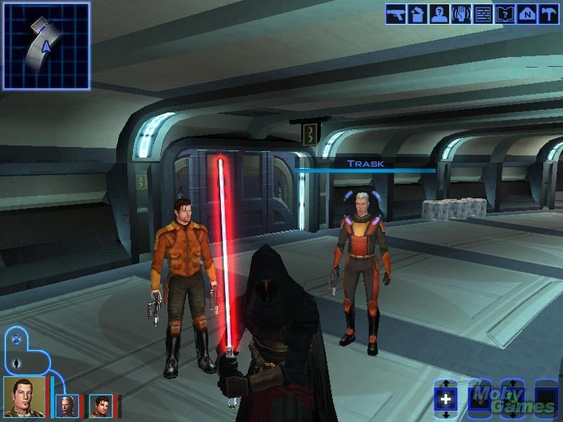 Star Wars - Knights of the Old Republic - xbox - gameplay screenshot - 2