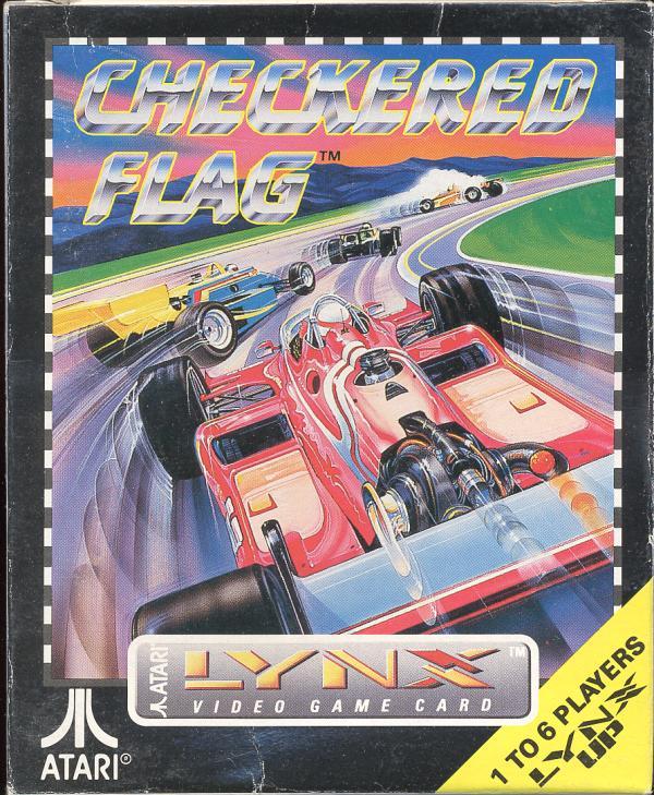 Checkered Flag - Atari Lynx