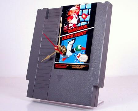 The NES cartridge Clock