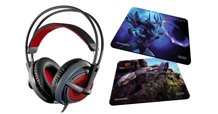 SteelSeries & Valve Introduce The Siberia v2 Dota 2 Edition Headset