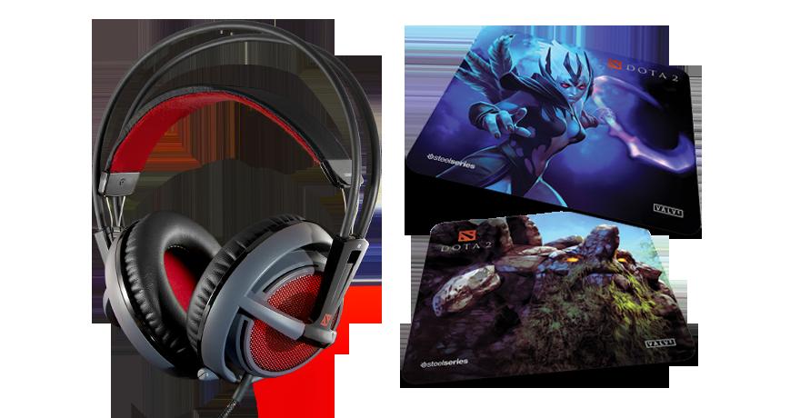 SteelSeries & Valve Introduce The Siberia v2 Dota 2 Edition Headset