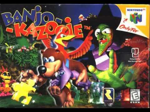 Banjo Kazooie-N64