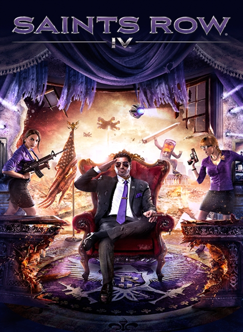 Saints Row 4 cover