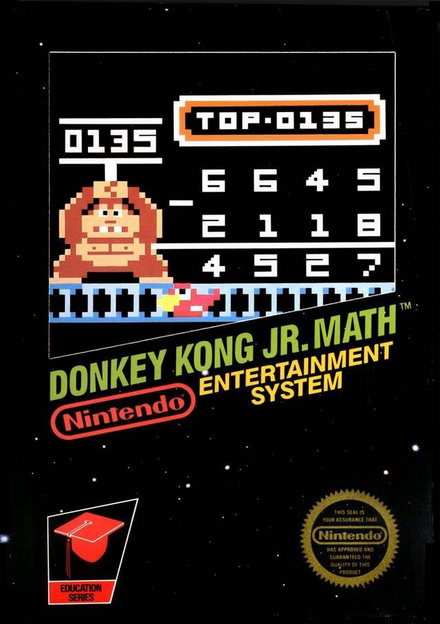 donkey kong jr math. Black Bedroom Furniture Sets. Home Design Ideas