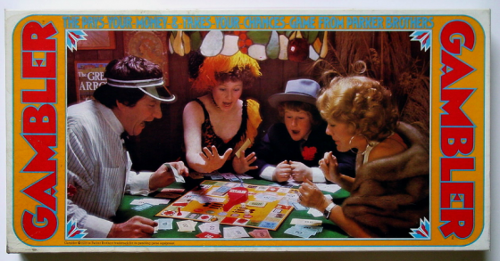 Gamble by parker bros