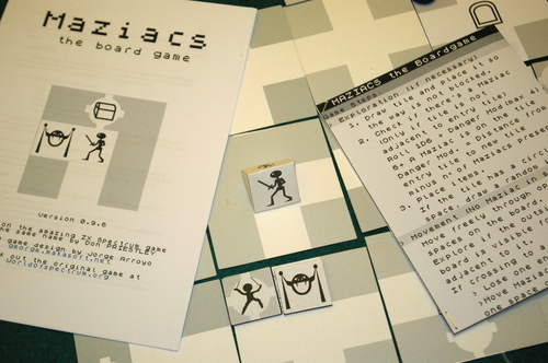 maziacs - the board game